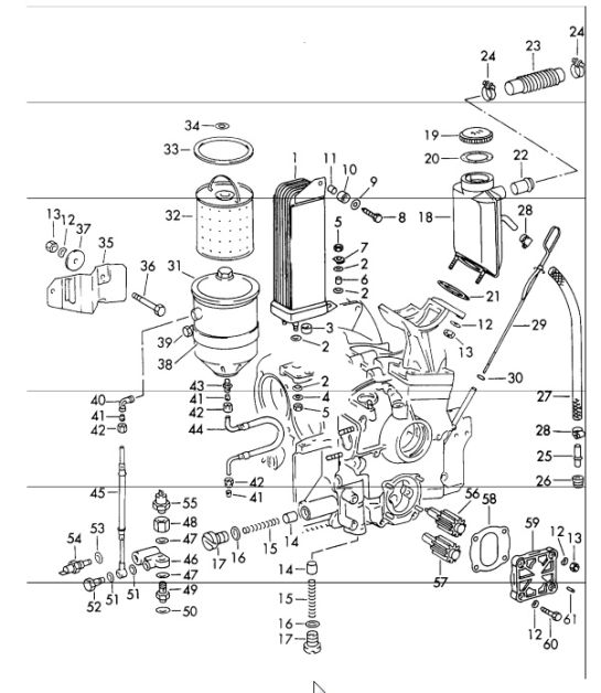 O2 Sensor 2001 Nissan Frontier Parts Diagram