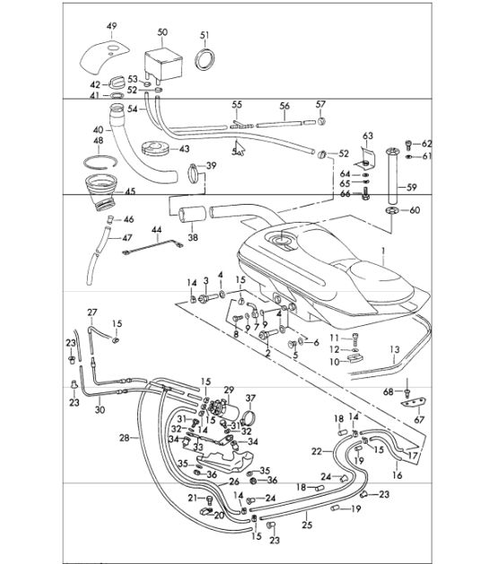 Porsche 928 Fuel System Diagram on Porsche 912 Wiring Diagram