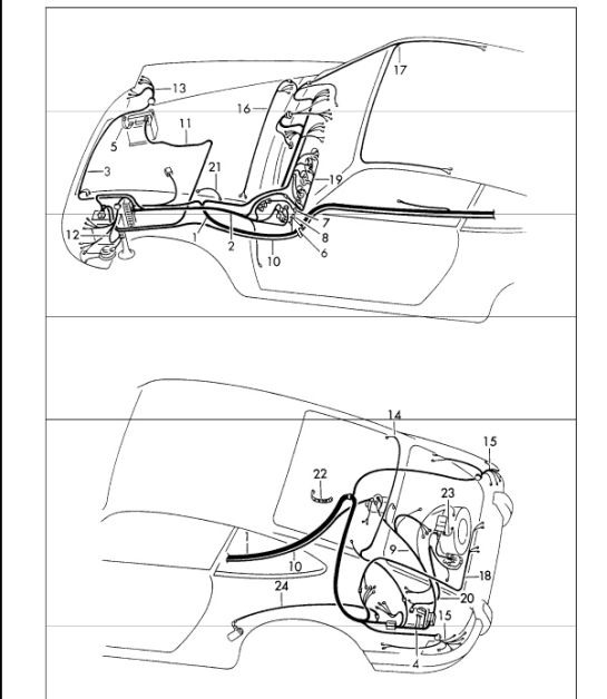 911_1973_9_02_902 10 battery ground strap porsche 911 1965 73 90161190221 design 911 Wiring Harness Diagram at alyssarenee.co