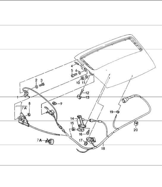 Rear Spoiler Driving Mechanism 964 Carrera 24 Rs Turbolook: Porsche Transmission Wiring Diagram At Nayabfun.com