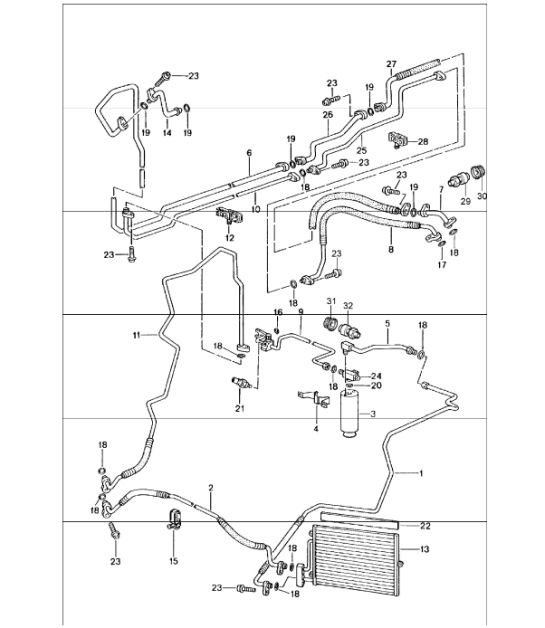 Air Conditioning Wiring Diagrams On Porsche 996 Wiring Diagrams