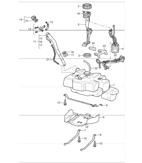 porsche rear differential diagram html