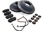 Porsche 928 1978-95 928GTS 5.4L 1992-95 Brake Pads & Disc Package