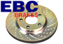 Porsche EBC Turbo Groove Brake Disc