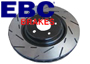 Porsche EBC Ultimax Slotted Brake Disc