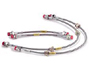 Porsche Cayman 987C / 981C Stainless Steel Braided Brake Lines