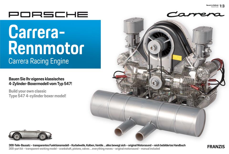 Porsche Carrera Racing 547 Engine Construction Kit - 00004491108