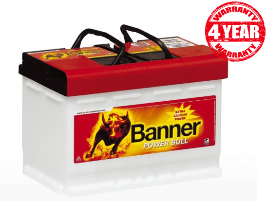 Banner Power Bull Professional 12V 100Ah P10040