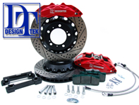 DesignTek GT Big Brake Kit (FRONT 8 POT) Porsche