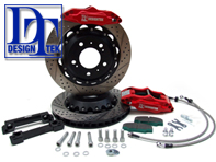 DesignTek GT Big Brake Kit (REAR) Porsche