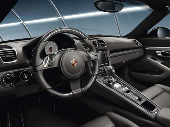 Interior Package In Carbon For MANUAL Cars. Porsche 981 Boxster / 981 Cayman