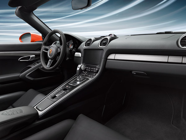 Interior Package In Brushed Aluminium FOR PDK CARS. Porsche 718 (982)  Boxster / Cayman