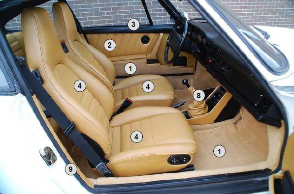 Buy Porsche 911 912 1965 1989 Complete Interior Restoration Kit Design 911