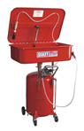 Sealey Mobile Parts Cleaning Tank Air Operated with Reservoir