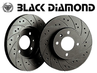 Black Diamond Front Combi Grooved KBD1539 Drilled Brake Discs