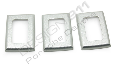 Chrome Light Switch Surround: Window Switch Surround Alloy. Porsche 911 / 964 / 993,Lighting